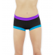 Short Lotus polewear personnalisable pour la pole dance
